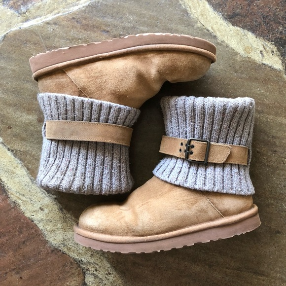 3f86ff3091a Ugg Cassidy Knit Cuff Sweater Boot, sz 10